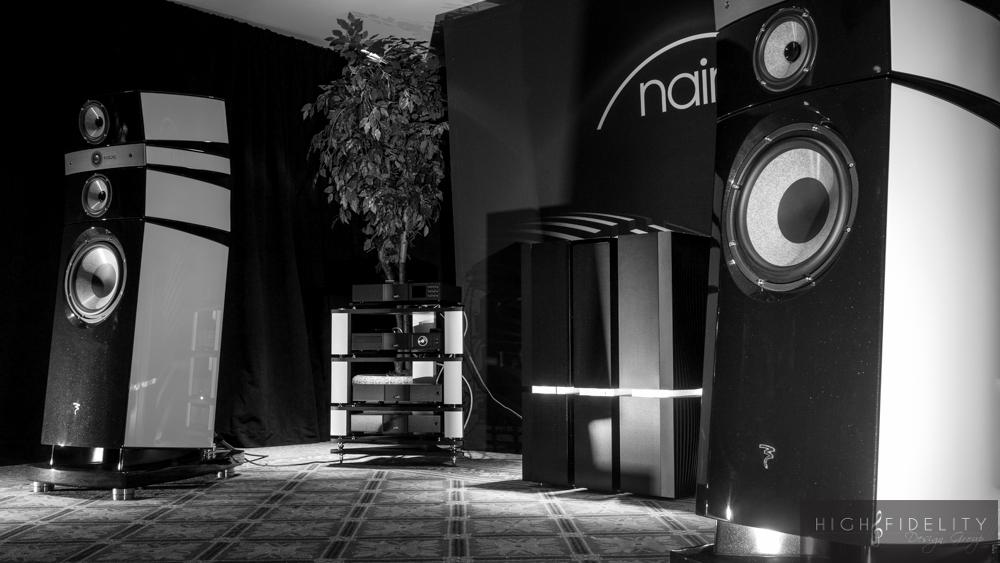 NY Audio Show Focal Naim