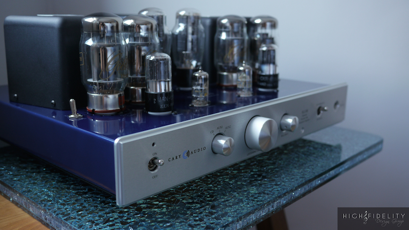 Customized Cary Audio SLI-80 Integrated Vacuum Tube Amplifier