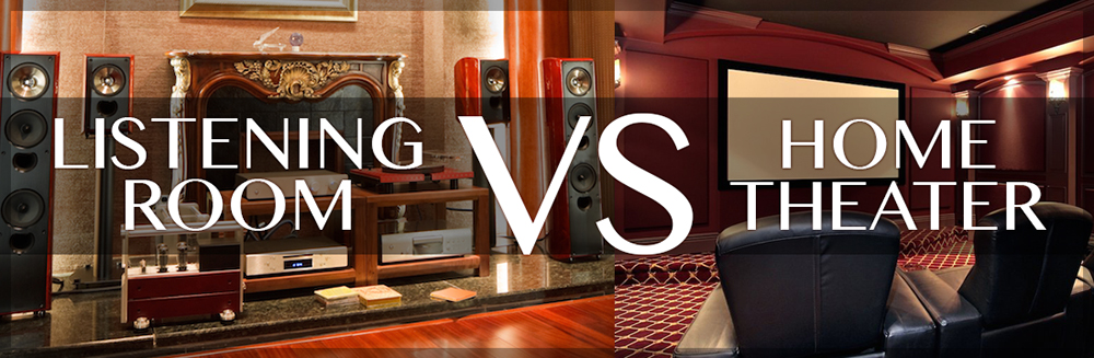 The Listening Room vs Home Theater