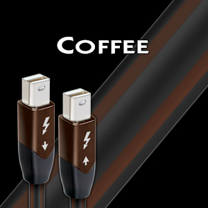 High-End Audio NYC | AudioQuest-Thunderbolt-Coffee